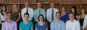 Research Services team photo, July 2014
