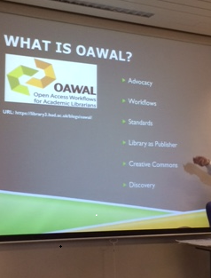 OA Advocacy 5 - What is OAWAL?