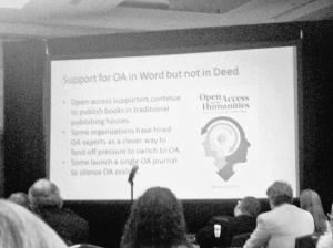 Support for OA in Word but not in Deed