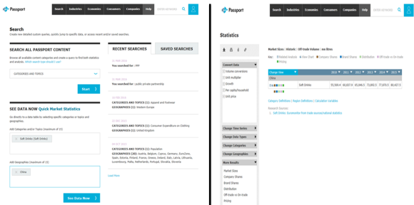 Passport. Search/results (new version).