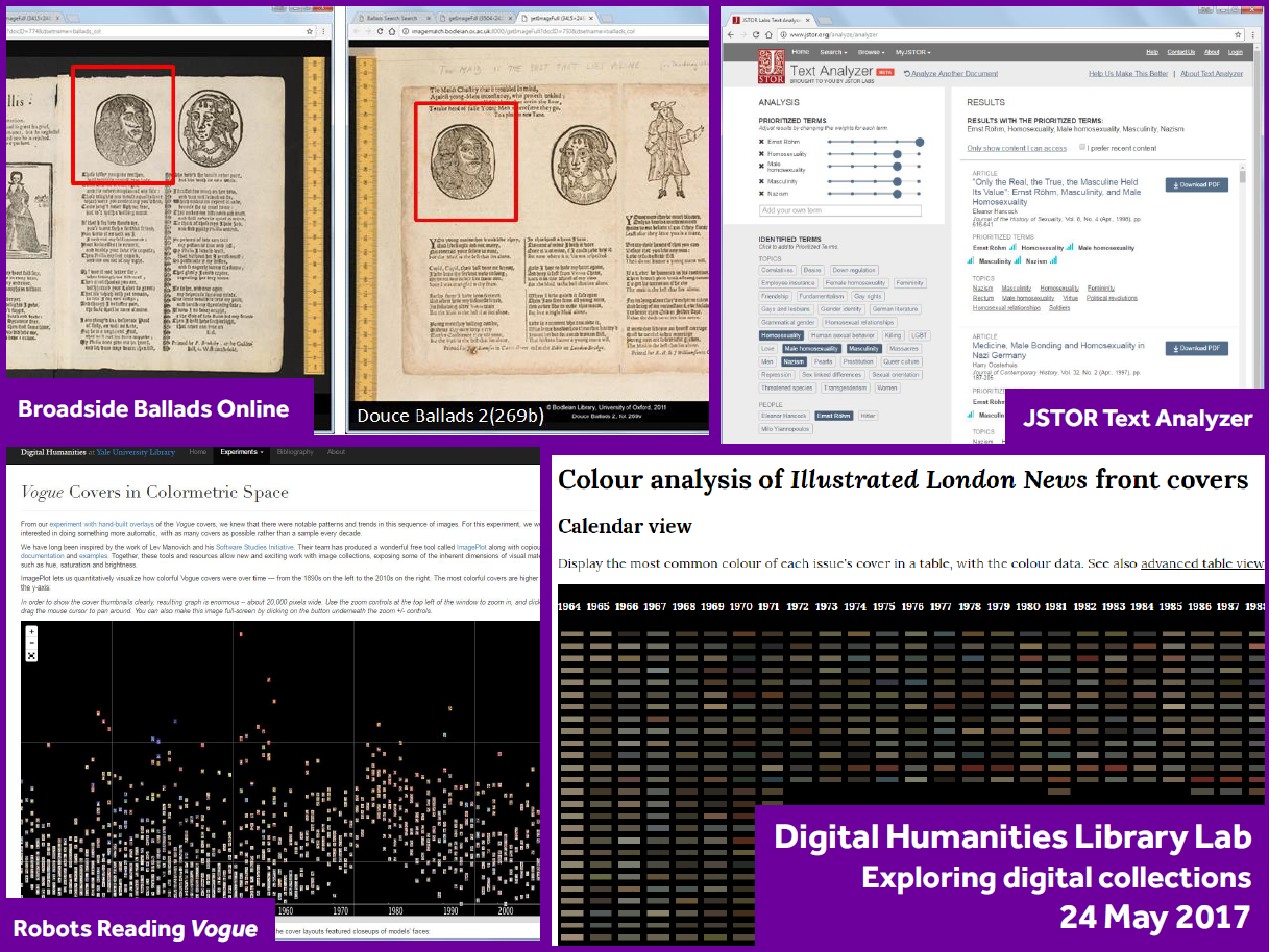 Digital Humanities Second Library Lab summary